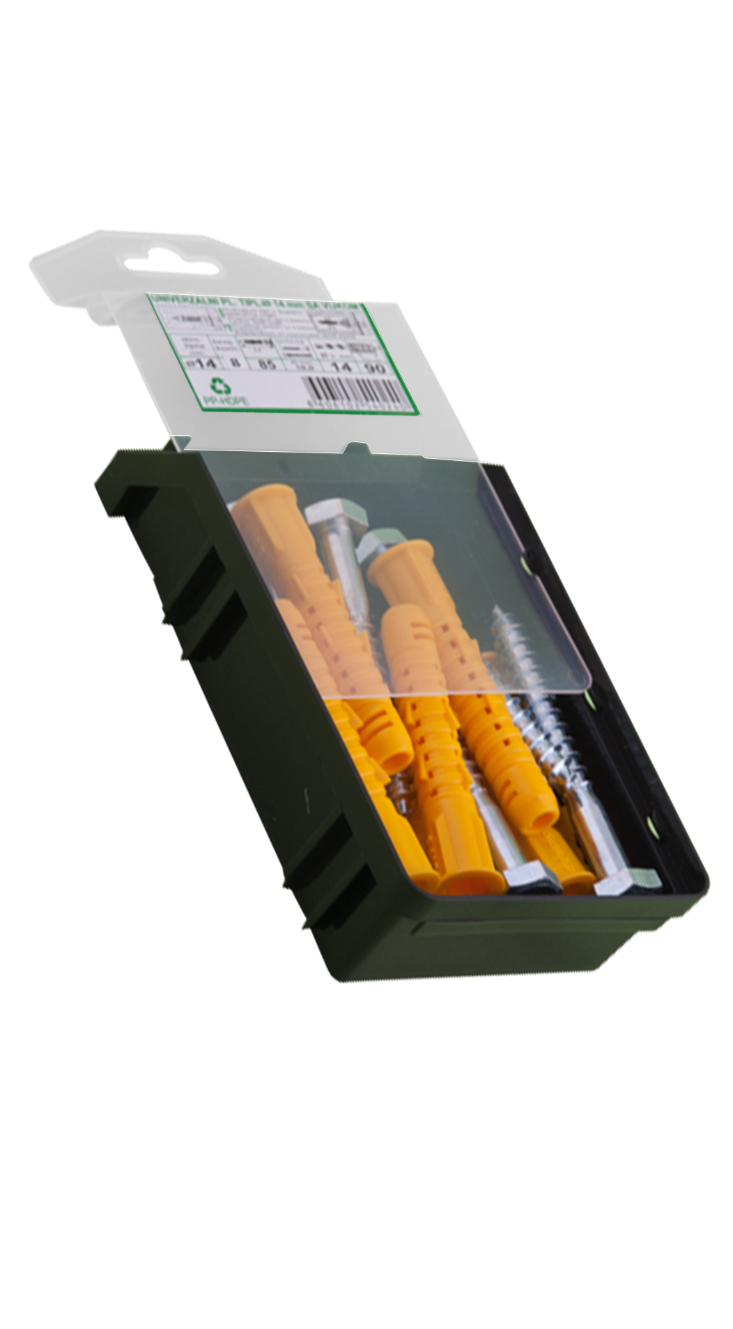 plastic anchors, organizer toolboxes, purpose products for the construction industry