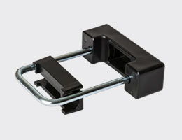 Clamps for pole of panel fence 60x40