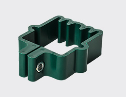 clamps for pole of panel fence 40x40